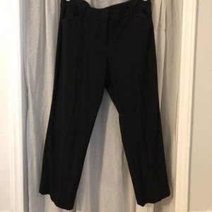 Talbots black dress pants